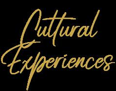 Cultural Experiences